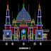 مشروع مسجد بواجهة رائعة اوتوكاد Plan Autocad dun Mosquée dwg