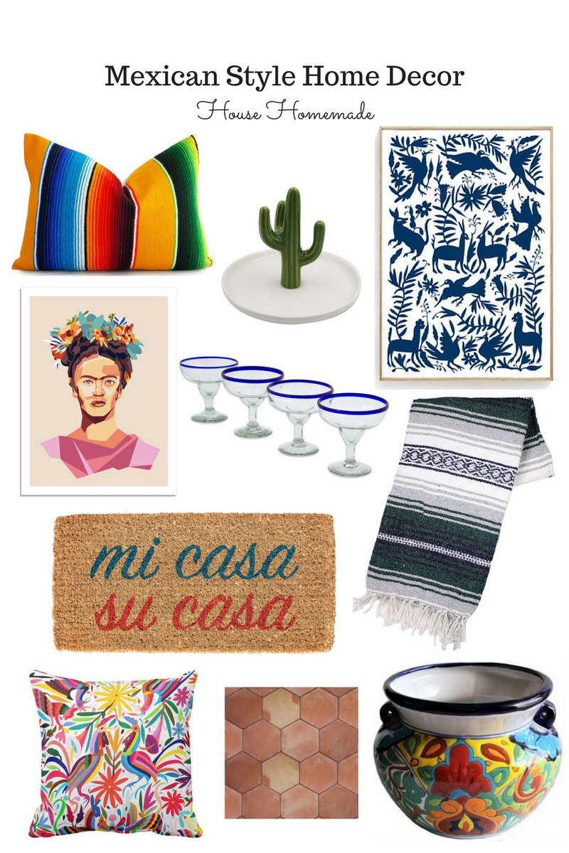 Global Styler: Mexican Style Home Decor | House Homemade