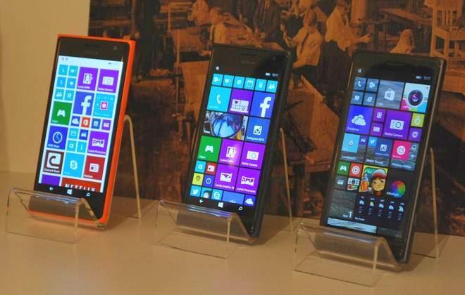 5c64989aef3 A Microsoft anunciou nesta quarta-feira, 1º, em evento em São Paulo, a  chegada de três modelos da família de smartphones Lumia no Brasil: 830, 730  e 735. Os ...