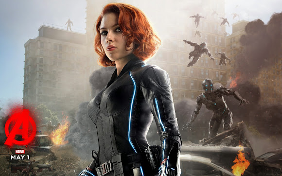 Black Widow Avenger Age of Ultron Wallpaper