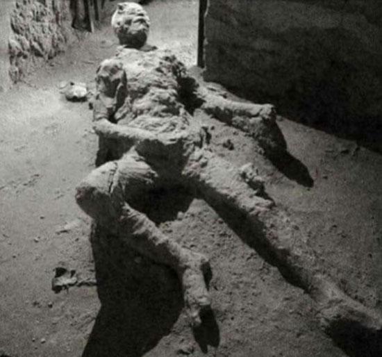 2º Homem 'mais azarado do mundo' foi encontrado em Pompeia - Capa