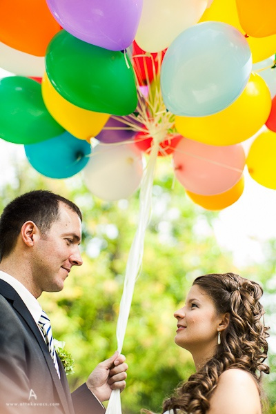 photo mariage ballon