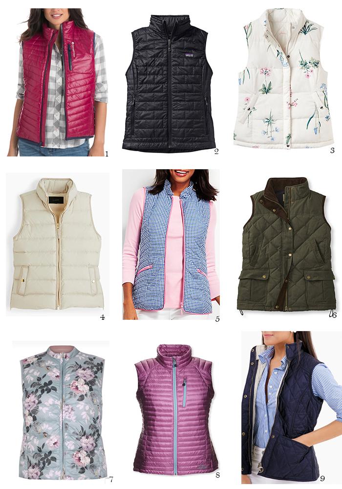 vest, shopping, spring