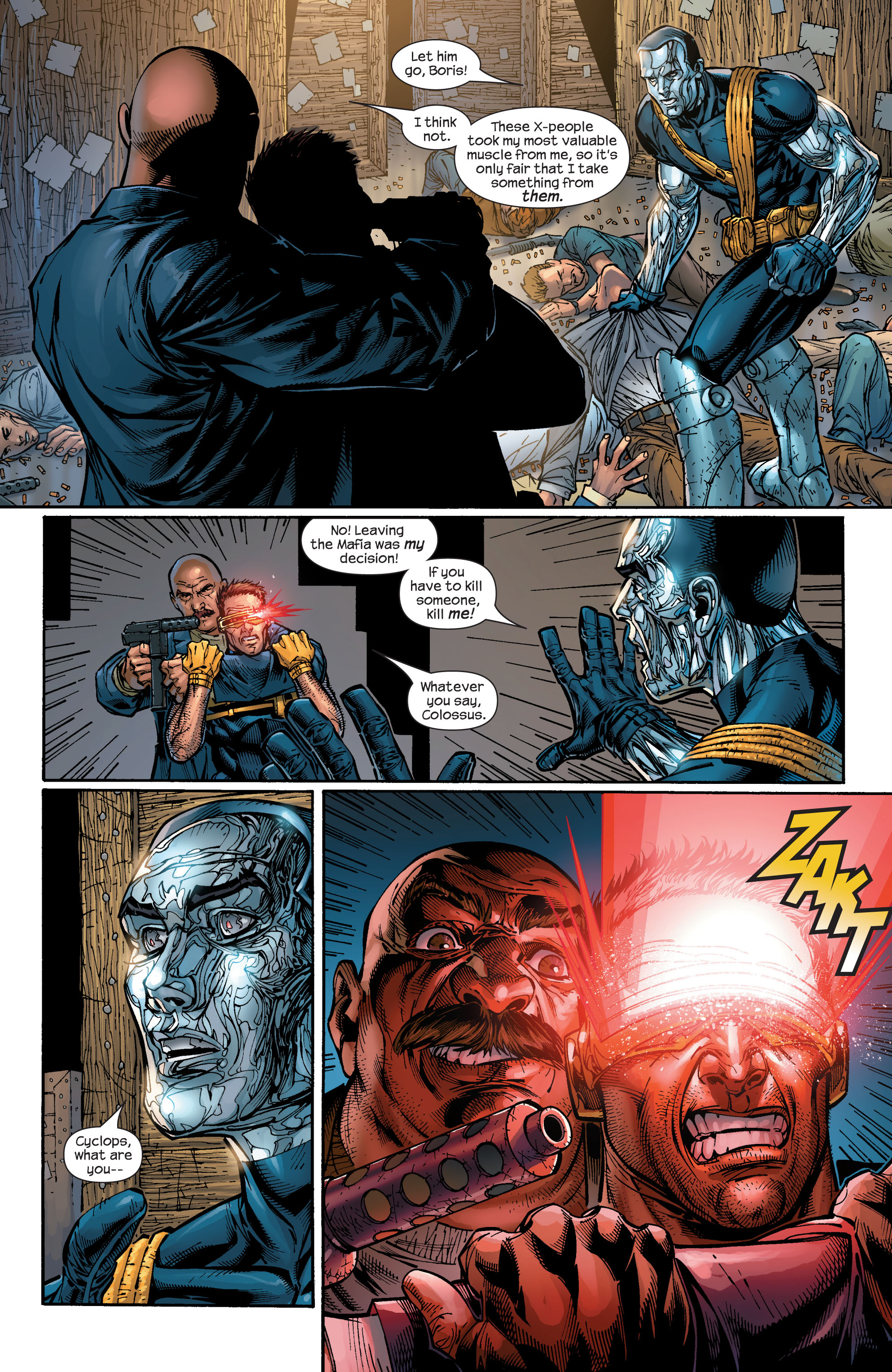 Read online Ultimate X-Men comic -  Issue #48 - 14
