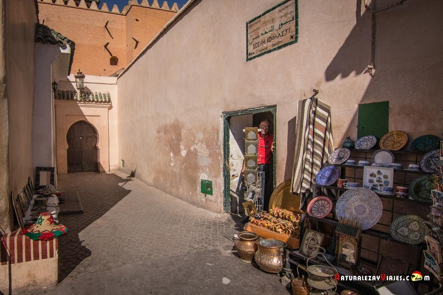 Tumbas Saadíes de Marrakech, Marruecos