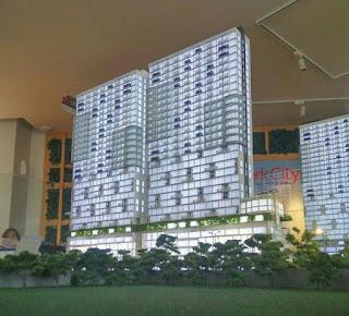 Maket Apartemen Tree Park Serpong