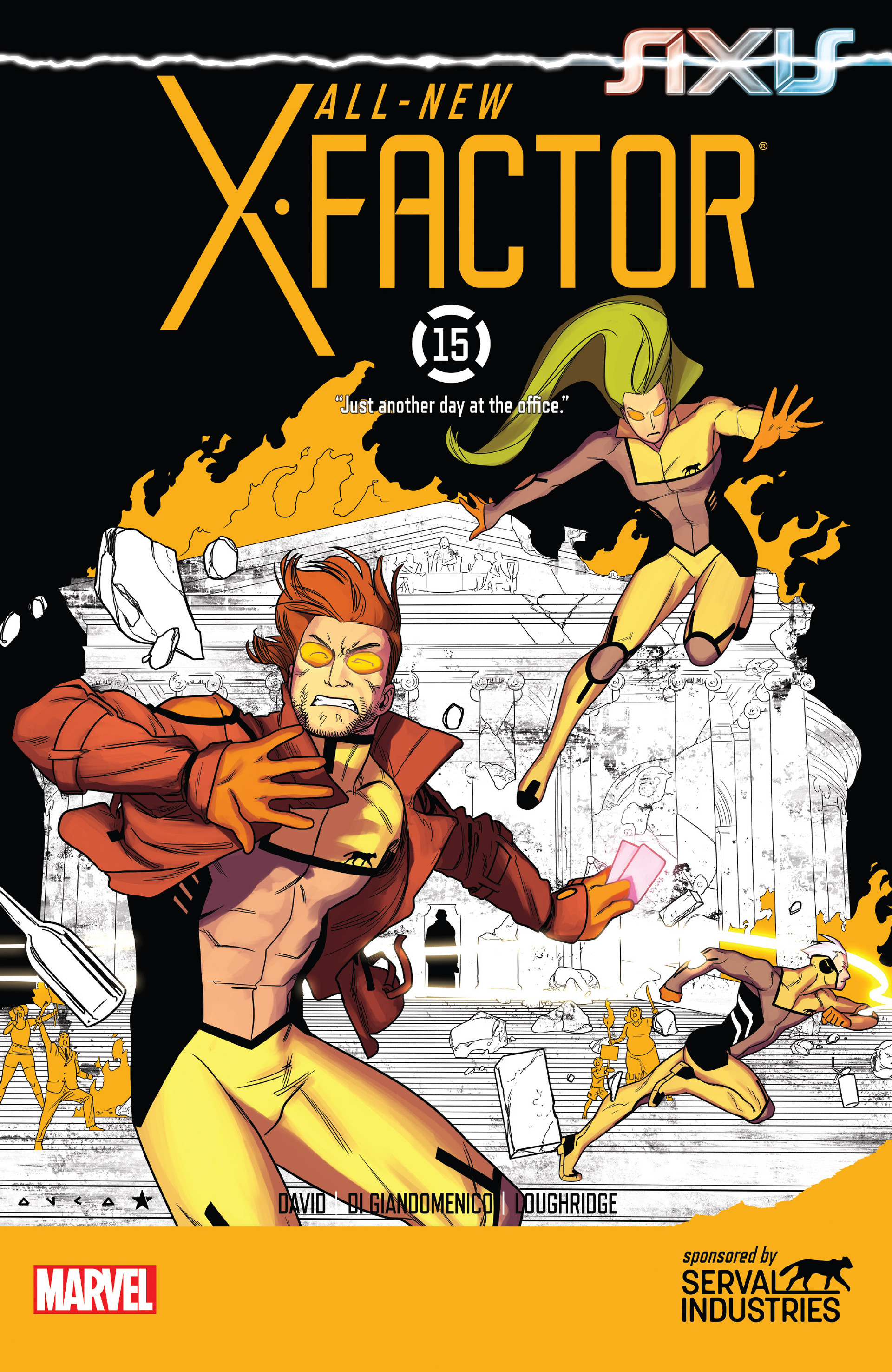 Read online All-New X-Factor comic -  Issue #15 - 1