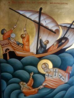 Saint Nicholas  Patron Saint of Sailors