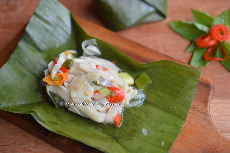 Diah Didi S Kitchen Pepes Jamur Tiram Bumbu Iris