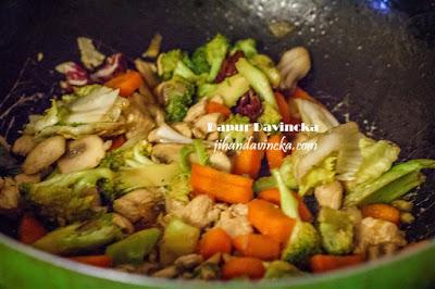 Resep Capcay Ayam Simpel