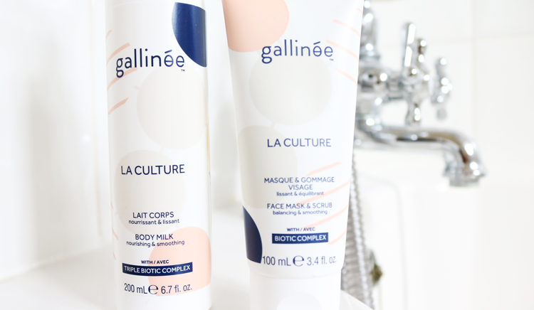 Mid Week Pamper Treats from Gallinée: La Culture Body Milk and Face Mask & Scrub review