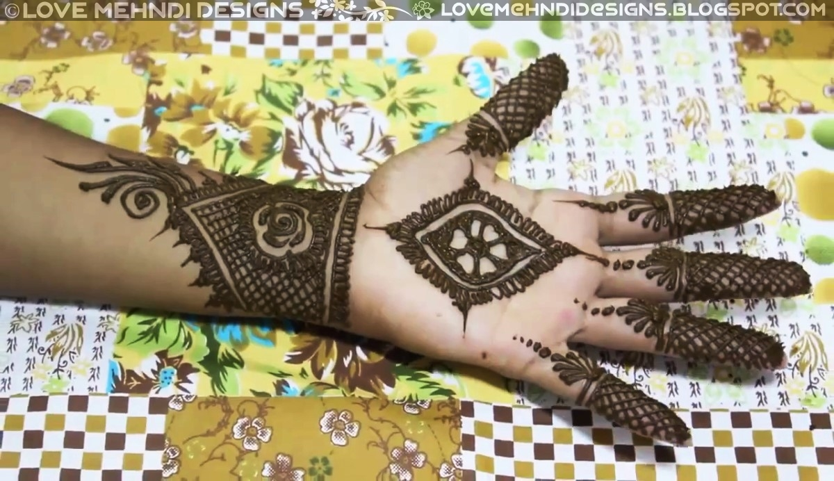 Best Simple Arabic Mehndi Designs For Hands Love Mehndi Designs