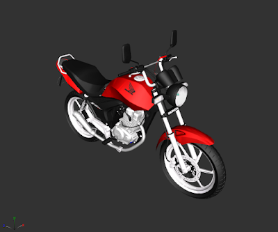 GTA SA - HONDA FAN 150 2