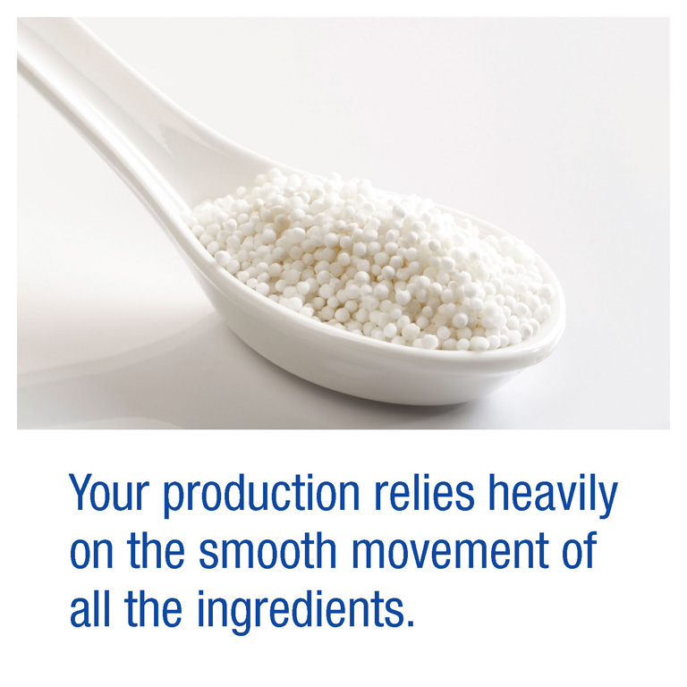 Your production relies heavily on the smooth movement of all the ingredients.