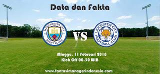 Data dan Fakta Fantasy Premier League GW 27 Manchester City vs Leicester City Fantasi Manager Indonesia