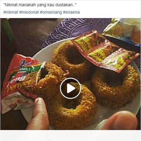 Waduh, Demam Donat Mie Goreng Terasa di Lampung! - Lifestyle Sedia Mie Donat Aneka topping DONAT MIE ALA ANAK KOS BUDGET 10 RIBU - YouTube Mie Donat Om Senang - Rasa Nendang! Perut Kenyang,, Hati Pun Senang... Terbuat dari Indo Mie Goreng dengan topping pilihan: Original, Hot Spicy Mayo, Hot Sambal, Black Pepper, Thousand Island. Instagram: @miedonatomsenang WhatsApp: 0896-2608-5980 Bisa dipesan via GoFood dan GrabFood Untuk Wilayah Bandar Lampung Dijamin 100% Halal 100% Indonesia