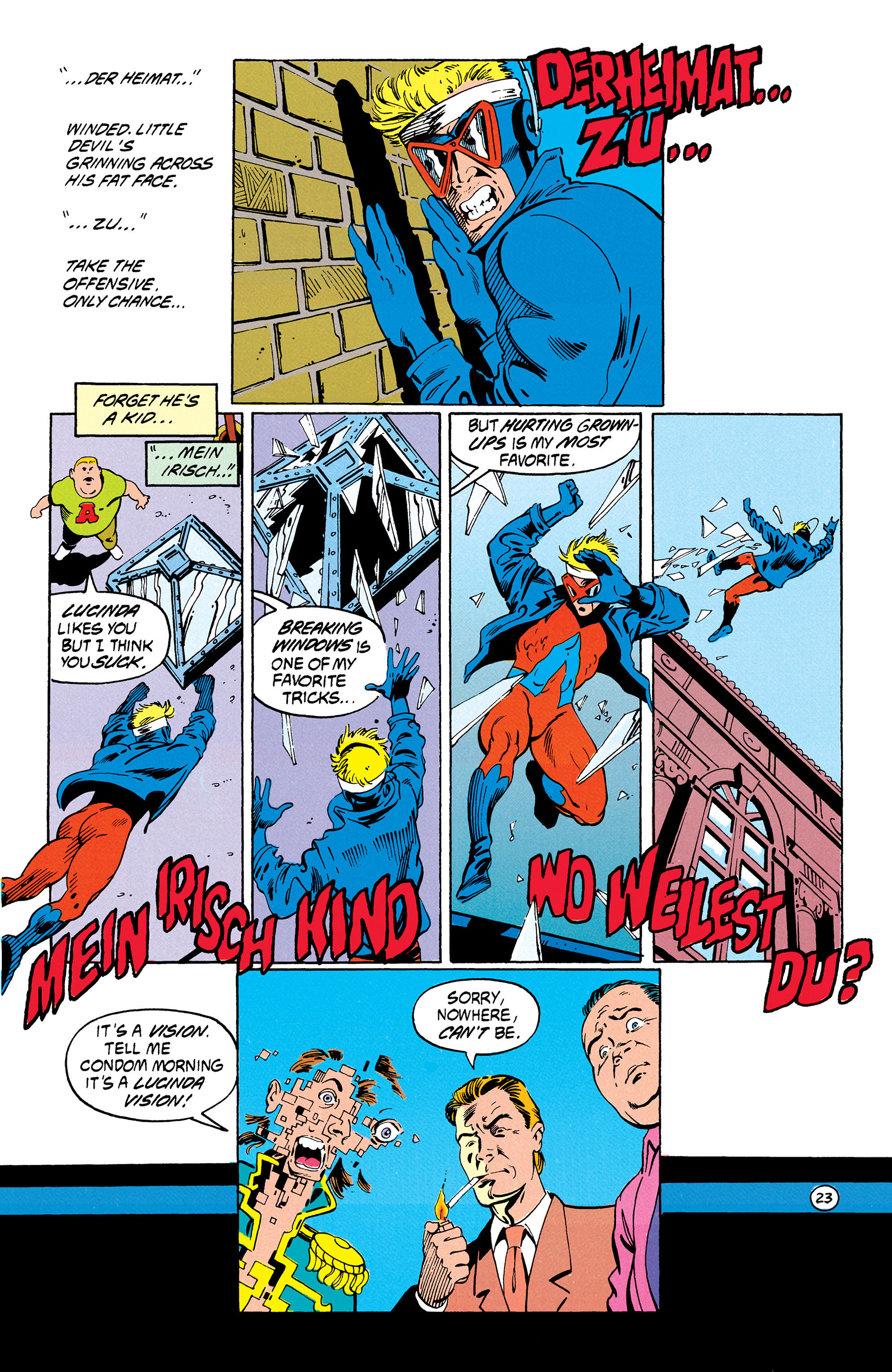Read online Animal Man (1988) comic -  Issue #30 - 24