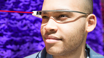 Google Glass Mashable Laser Pointer