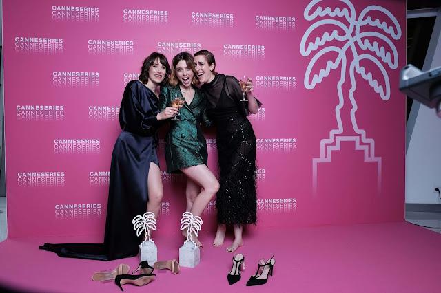 Leticia Dolera, Aixa Villagrán, Celia Freijeiro, Cannesseries, premio