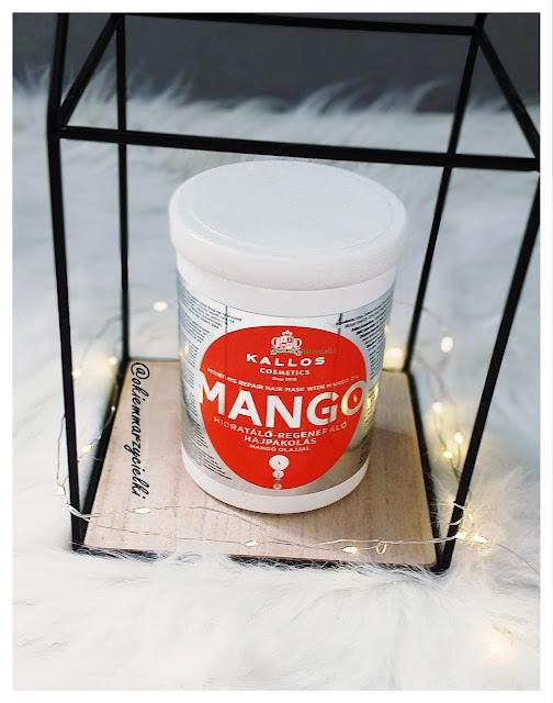 Maska do włosów z olejem mango, Kallos-recenzja #67