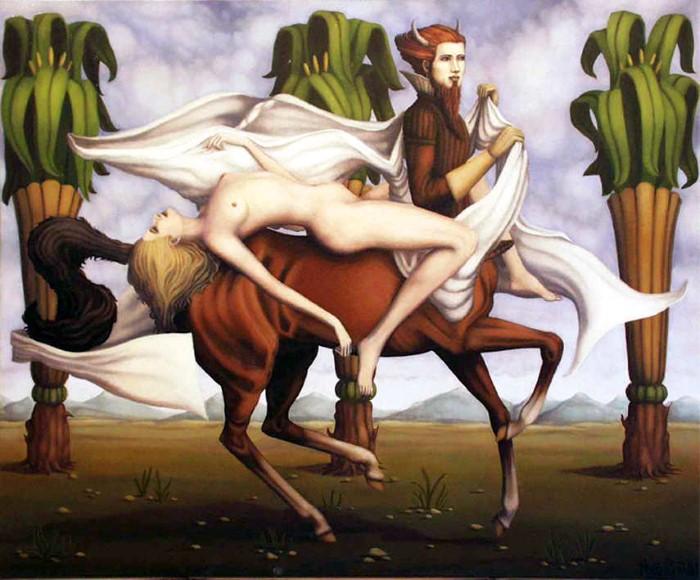 Ужасы древних мифов. Hugues Gillet 7