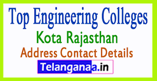 Top Engineering Colleges in Kota Rajasthan