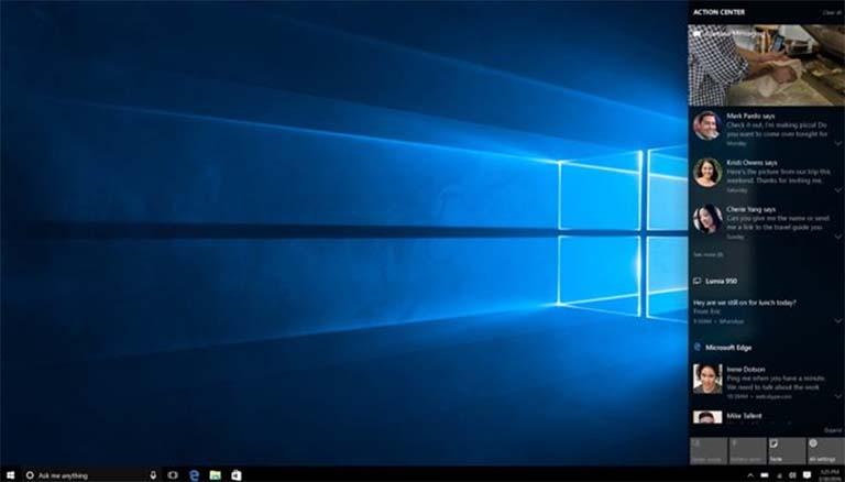 Pembaruan Windows 10 Berikutnya Akan Membawa Perbaikan Untuk Action Center