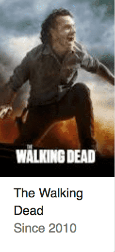 The Walking Dead Best TV Series