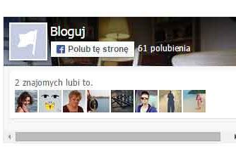 Jak dodać gadżet Facebook na bloga blogspot (stronę, fanpage, lubię to)