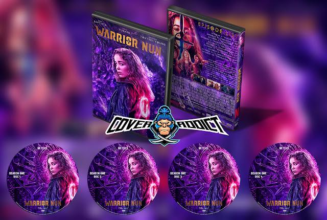 Warrior Nun Season 1 DVD Cover