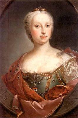 Portrait de Marie Terezie, Barbara Krafft