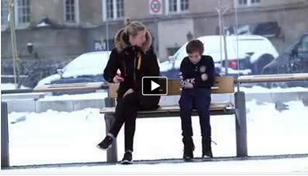 Norwegians Reactions To A Lonely Boy Out In The Cold Without A Jacket