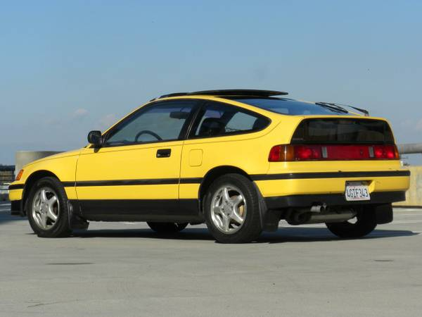 Original Low Miles, 1989 Honda CRX SI | Auto Restorationice