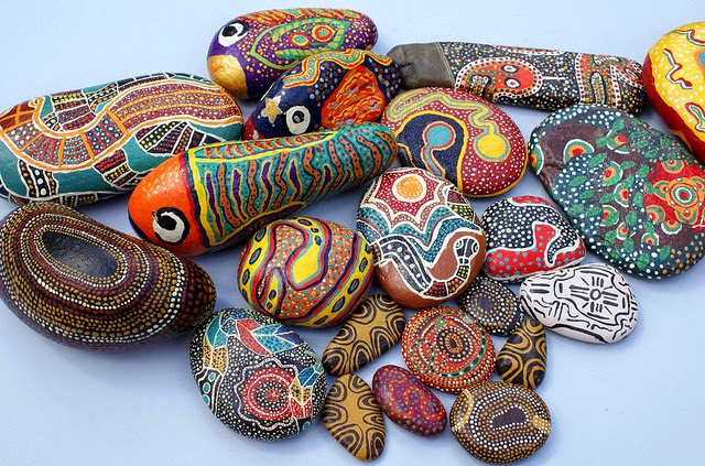 rock painting ideas for home decor ~ Art Craft Gift Ideas on Rock Decorating Ideas  id=13929