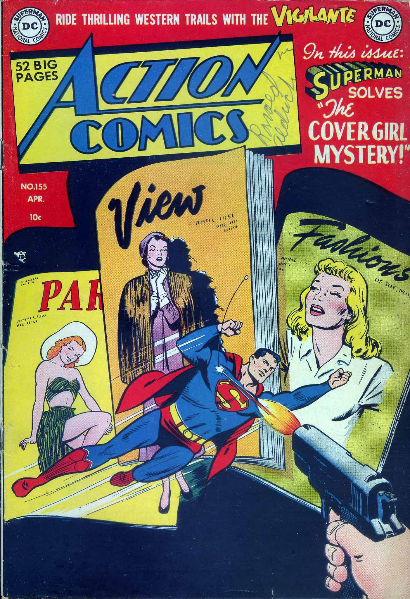 Read online Action Comics (1938) comic -  Issue #155 - 1