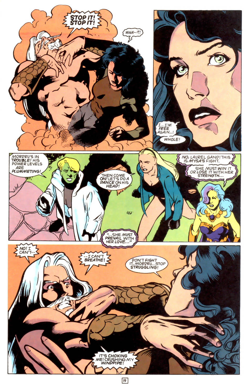 Legion of Super-Heroes (1989) 47 Page 19