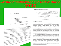 Contoh Laporan Penelitian Tindakan Kelas (PTK) Semua Bidang dan Metode