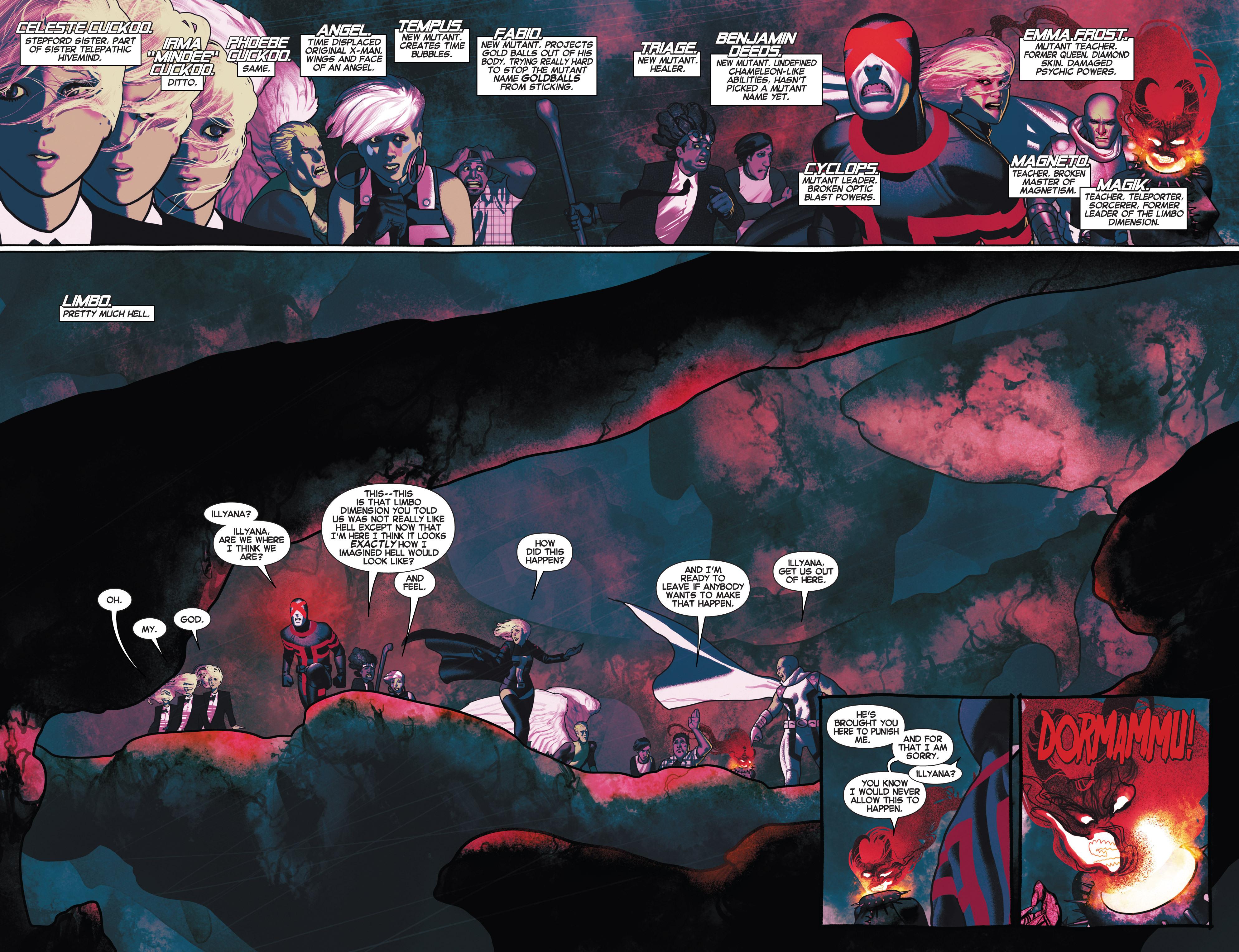 Read online Uncanny X-Men (2013) comic -  Issue #6 - 7