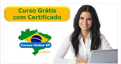 Cursos Online Grátis Com Certificado Cursos Online Sp Do Brasil