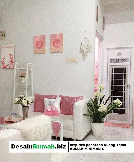 DesainRumah.biz - Inspirasi desain interior ruang tamu pada rumah minimalis.