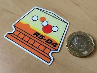 R5-D4, sticker