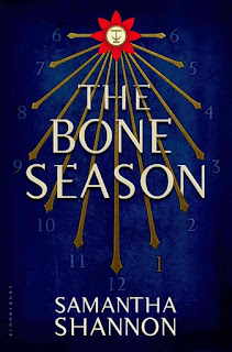 Cover art for The Bone Season by Samantha Shannon