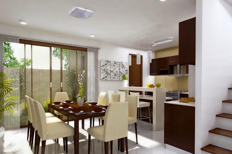 Desain Dapur Dan Ruang Makan Sederhana