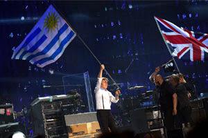 Image result for paul mccartney uruguay bandera