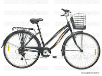 26 Inch Wimcycle Starlite 7 Speed Shimano City Bike
