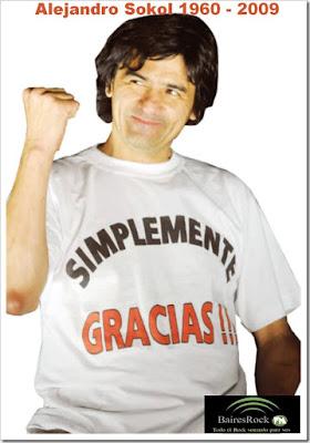 Alejandro Sokol, (30 de enero de 1960 - 12 de enero de 2009)
