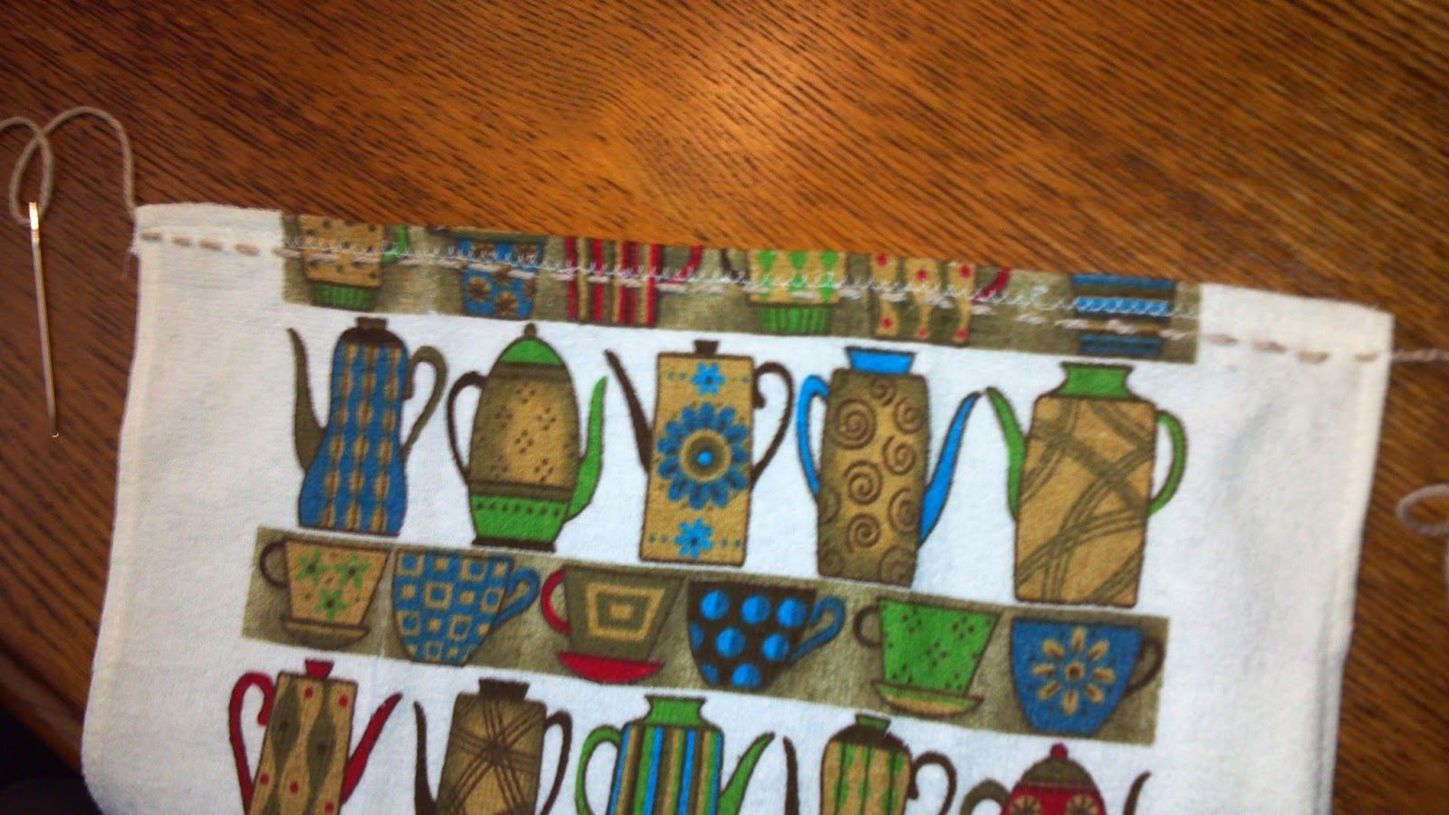 Kriskrafter: Knitted Towel Topper - Free Pattern!