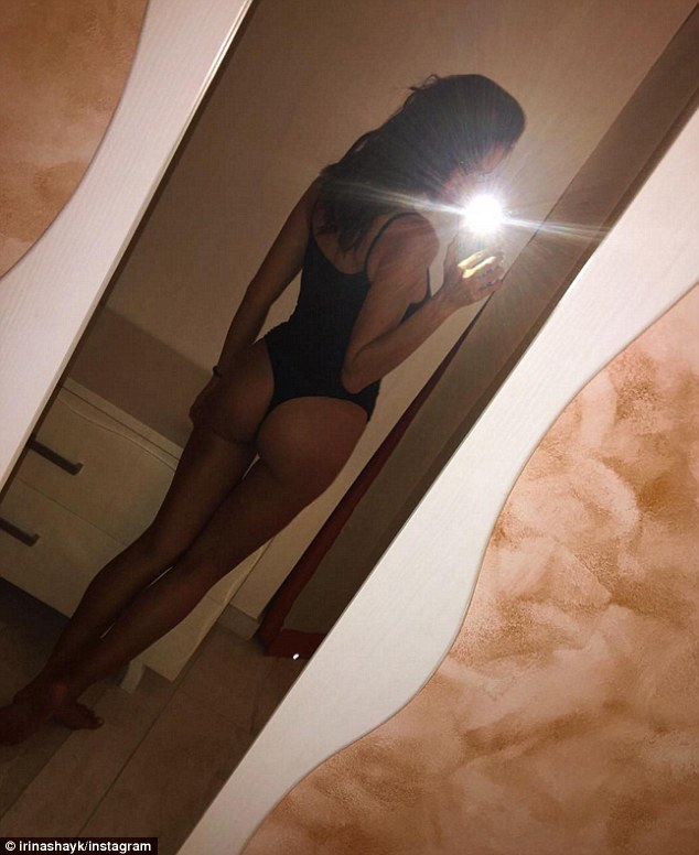 Irina Shayk bares pert posterior in Instagram selfie