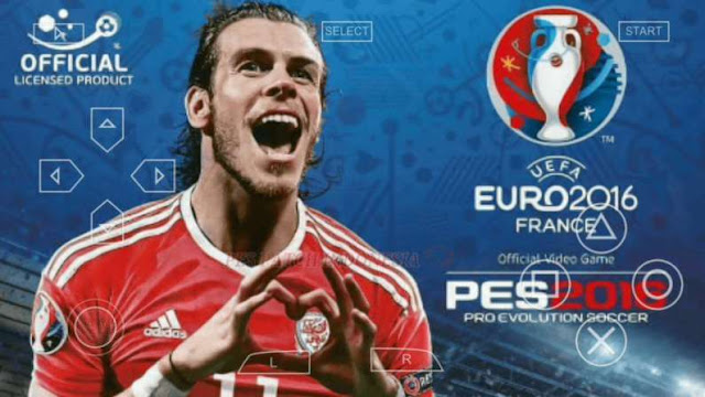 Download PES 2016 PPSSPP on Android and iPhone Game