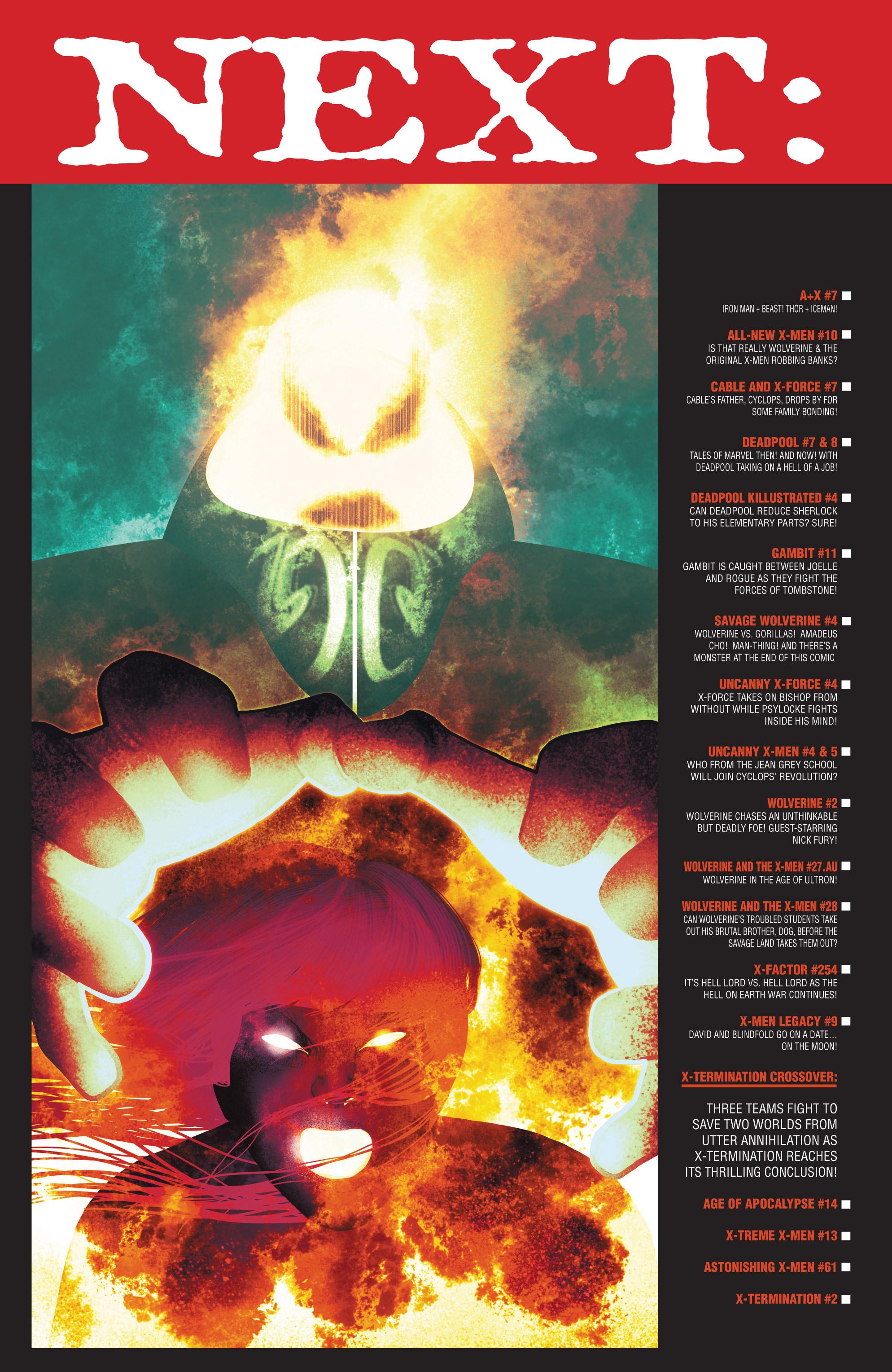 Read online Uncanny X-Men (2013) comic -  Issue #5 - 21